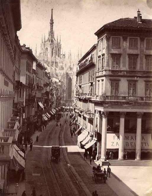 Italy, Milan, ca 1880
