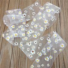 Wholesale printed material custom logo printed adhesive satin ribbon