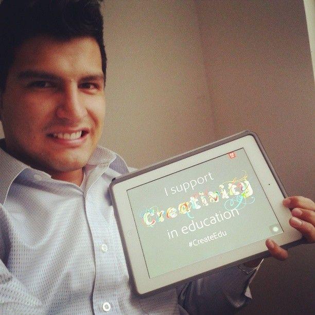 Wilder Bolaños Gómez supports #createedu do you? http://edex.adobe.com/pledge