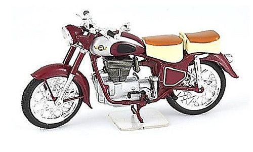 Ex Mag 1:24 Simson 425 S Plastic Model Motorcycle FM01 This Simson 425 S Plastic Model Motorcycle is Burgundy and features working stand, wheels. It is made by Ex Mag and is 1:24 scale (approx. 8cm / 3.1in long). Comes with metal name plate. #ExMag #ModelMotorbike #Simson