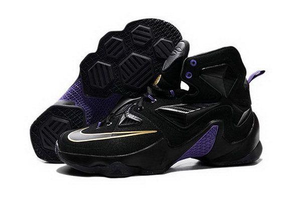 Nike Lebron Xiii(13) Black Purple Sneakers Outlet