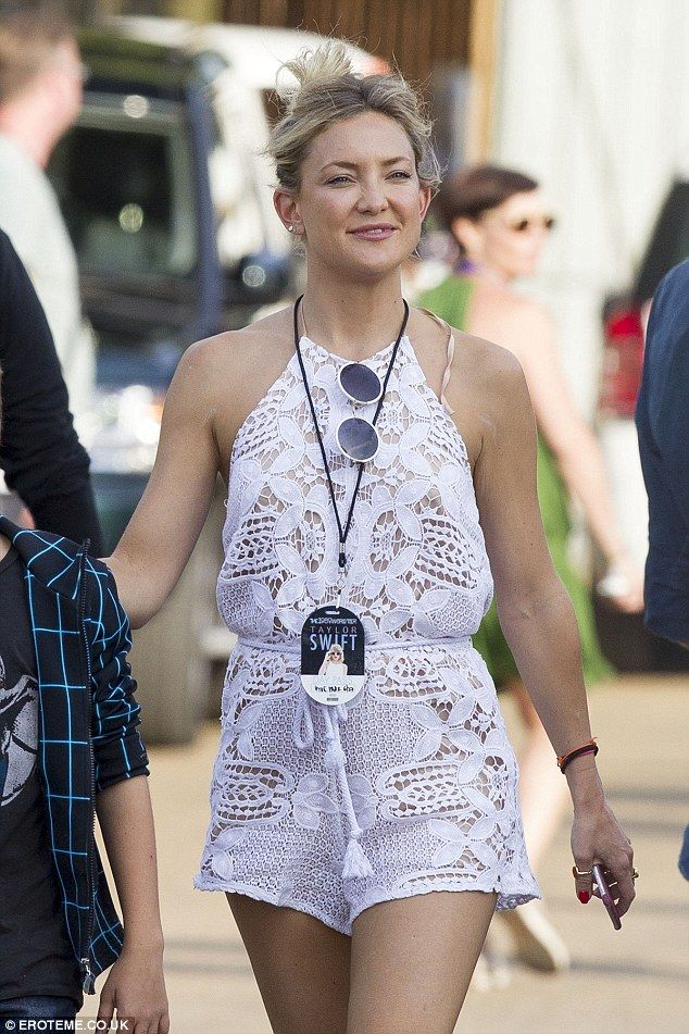 Steal Kate's summer style in a crochet playsuit by Miguelina #DailyMail