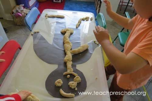 Exploring the inside of our outside - skeletons, bones, pre-k