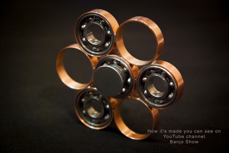 DIY Fidget Spinner How To Make youtu.be/NWyCEFdOuPM