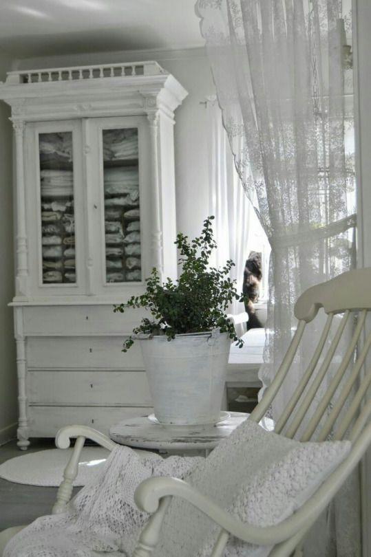 804 best ♥ White Living images on Pinterest White cottage - gardine küche modern