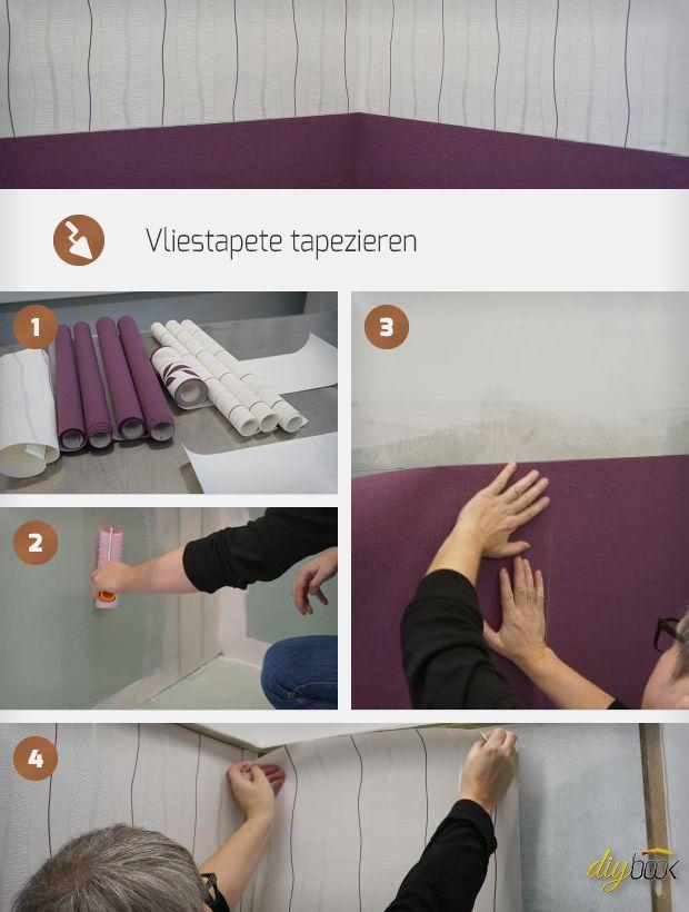 Die besten 25+ Tapezieren Ideen auf Pinterest Günstig einrichten - tapeten tapezieren