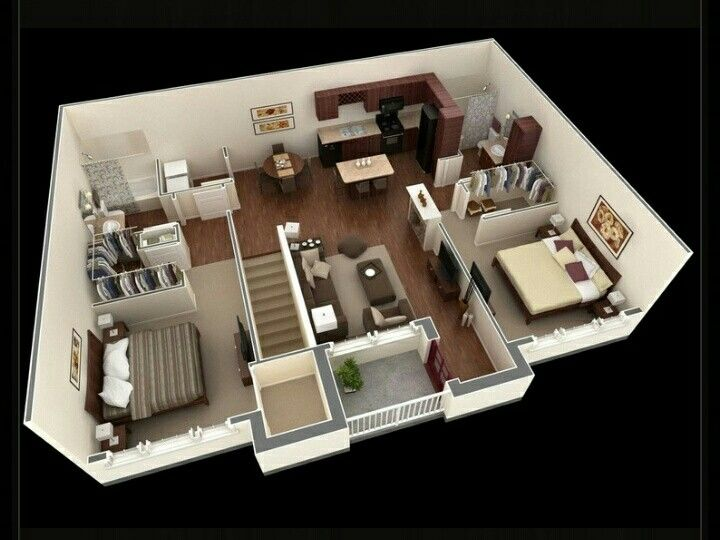 2 Bedroom Garage Apartment - Home Design Ideas and Pictures
