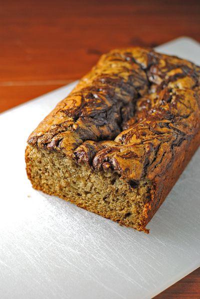 Chocolate Banana Bread #bananabread #chocolate