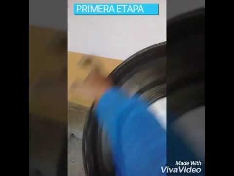 Mezcladora de cemento casera 100 % Ecuatoriano