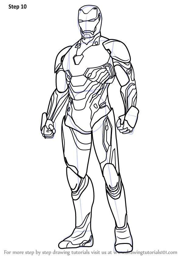 Avengers Infinity War Colouring Sheet | Anlatımlı çizim ...