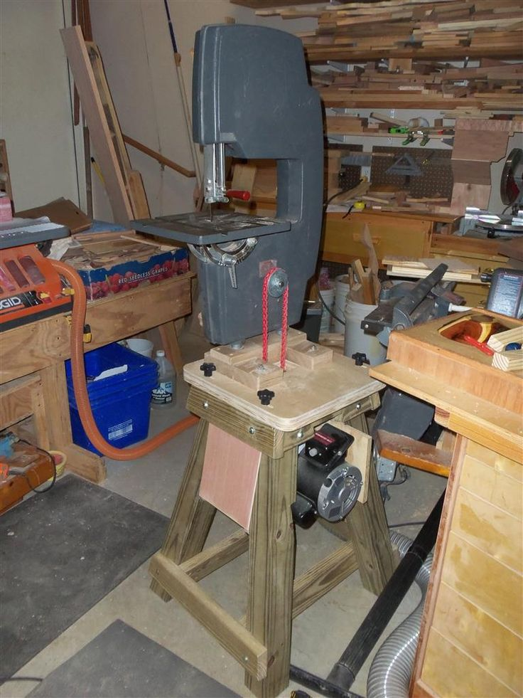 Shopsmith Bandsaw Shop Built Power Stand Shopsmith