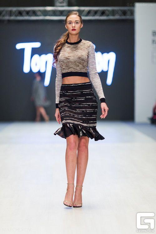 Belarus Fashion Week Spring-Summer 2015 : Ton-in-ton, FUR GARDEN