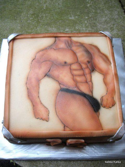 Bodybilder cake