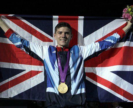 Luke Campbell with his Men's Boxing Bantam 56kg gold medal.