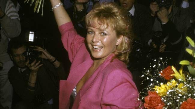 "Kicki Danielsson vann Melodifestivalen 1985 med låten ""Bra vibrationer"". Stefan Lindblom/Scanpix"