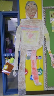 create a giant (as in Jack n the Beanstalk) using non-standard units of measure