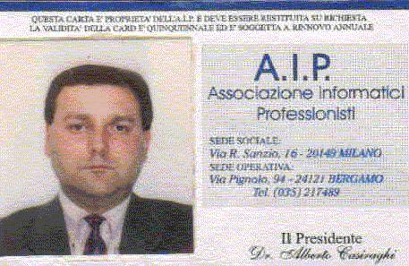 Associazione Informatici Professionisti 10/12/1991 - 28 Maggio 2017 ore 19.38
