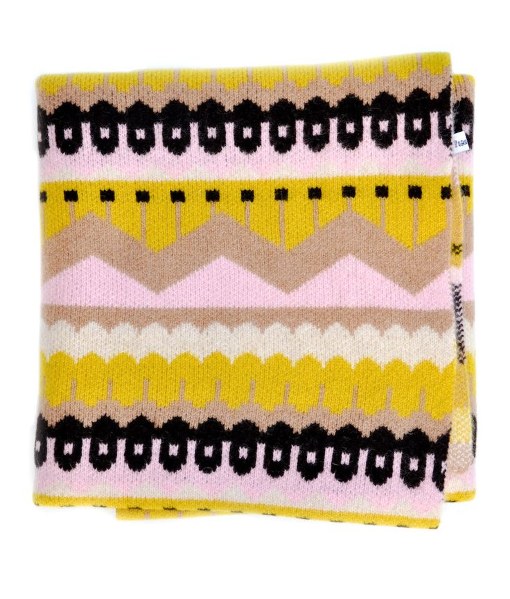 Hofdi Square Wool BlanketColors Combos, Hofdi Blankets, Squares Wool, Lambswool Blankets, Pale Pink, Hofdi Squares, Throw Blankets, Donna Wilson, Blankets Pattern