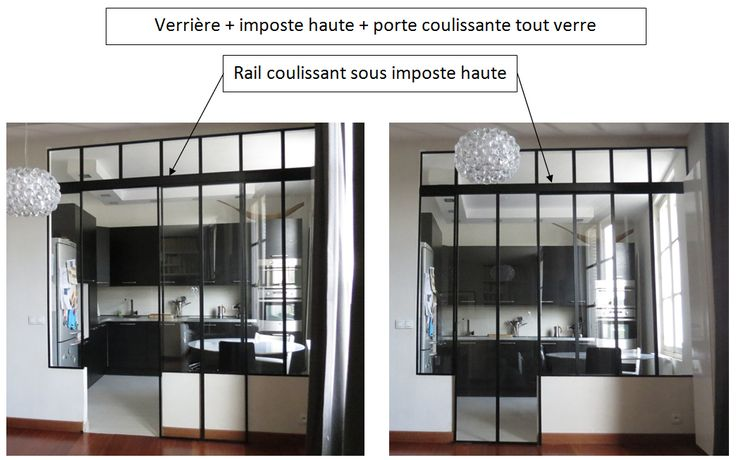 verri re rail coulissant sous imposte haute porte coulissante tout verre baie vitr e. Black Bedroom Furniture Sets. Home Design Ideas