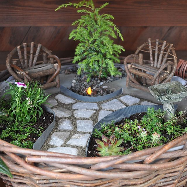 Miniature Garden Ideas 40 magical diy fairy garden ideas Find This Pin And More On Gardening In Miniature