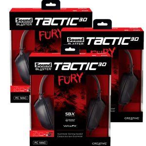 Sound Blaster Tactic3D Fury, Headphone Gaming Berkualitas dengan Harga Pas