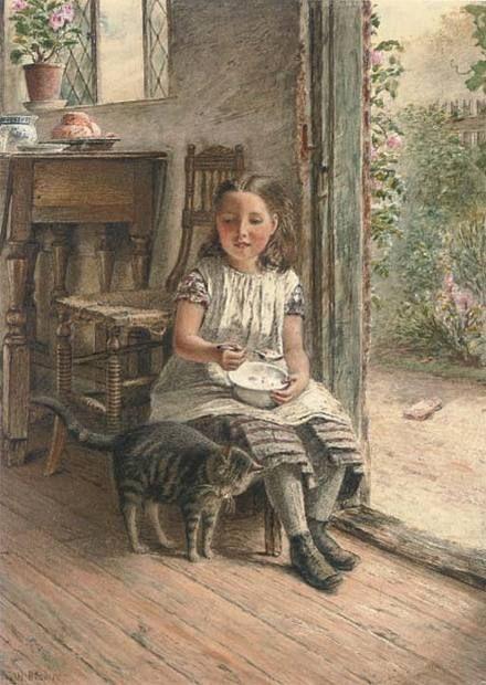 William Bromley, Breakfast with a friend; Privatbesitz