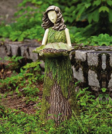 Take a look at this Fern Sherwood Birdfeeder by Evergreen on #zulily today!