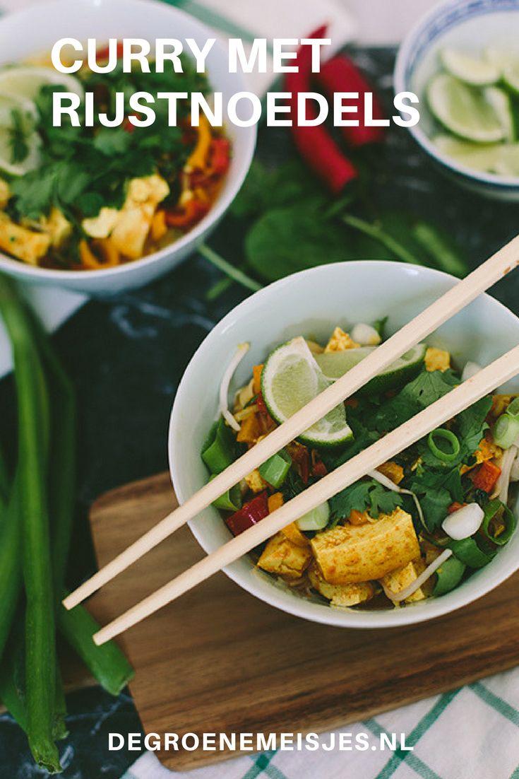 Een recept voor curry met fair trade rijstnoedels - met winactie om zelf aan de slag te kunnen :)
