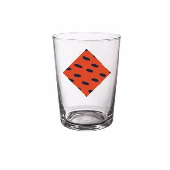 Orange Rio Beer Glass: Orange Rio beer glass. Iconic and passionate with an 80's inspiration, colourful influence and eclectic design.