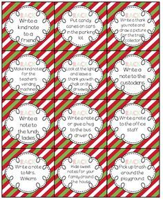 RACK {Our Random Acts of Classroom Kindness}!- How we incorporated Random Acts of Kindness in the classroom!