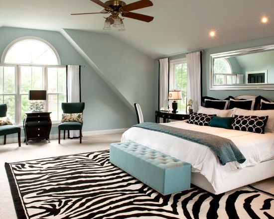 bedroom design pictures remodel decor and ideas page 29 zebra rugszebra print - Zebra Print Decorating Ideas Bedroom