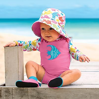 Sun Smarties Baby Rash Guard-Style Swimsuit by OneStepAhead
