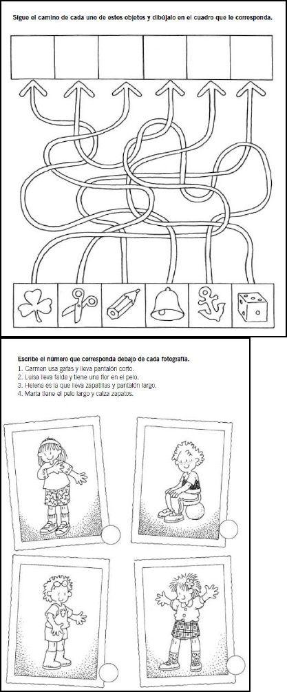 ejercicio de atención | Scribd