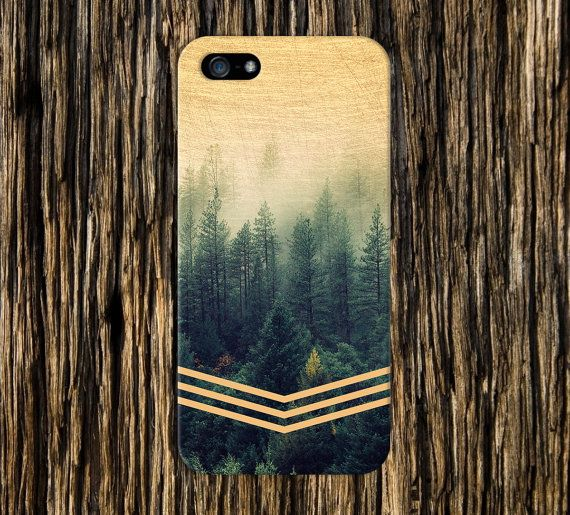 Golden Forest Chevrons Faded Wood Nature Case iPhone 6, iPhone 6 Plus, Tough iPhone Case, Galaxy S7, Samsung Galaxy Case Note 5, CASE ESCAPE
