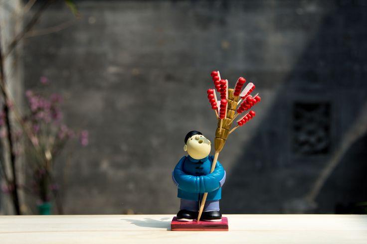 Old Beijing: Tanghulu Man