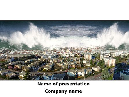 The Best Nature And Environment Presentation Themes Images On - Fresh tsunami powerpoint presentation design