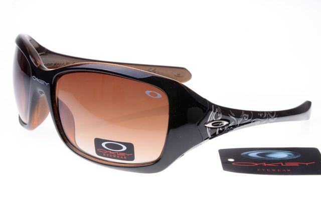 Oakley Womens Sunglasses Black Deep Brown Frame Brown Lens 1215 [oakley 1215] - $25.00 : Ray-Ban® And Oakley® Sunglasses Online Store