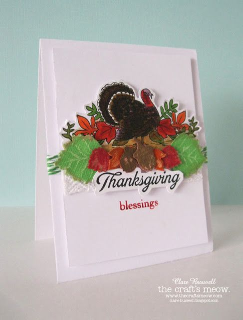 Clare's creations: Thanksgiving Blessings
