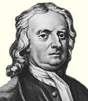 Исаак Ньютон (1643-1727) — английский математик, механик, астроном и физик, создатель классической механики, член (1672) и президент (с 1703) Лондонского королевского общества. Один из основоположников современной физики, сформулировал основные законы механики и был фактическим создателем единой физической программы описания всех физических явлений на базе механики, открыл закон всемирного тяготения - http://to-name.ru/biography/isaak-njuton.htm