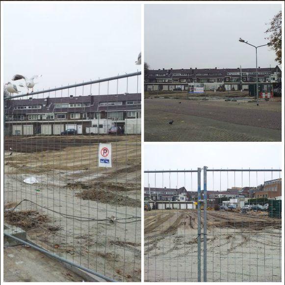 De vorderingen van de werkzaamheden half november 2013