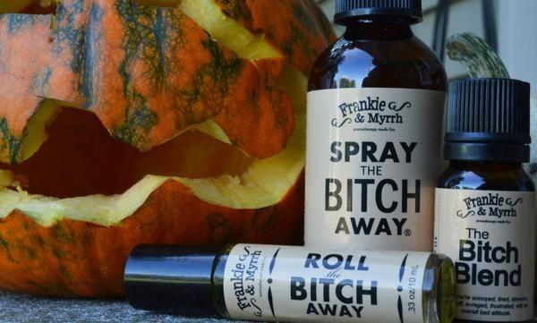 Spray the Bitch Away | Aromatherapy Spray - Frankie and Myrrh