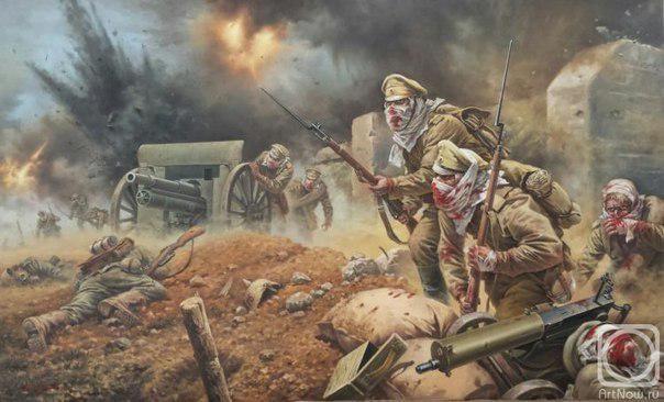 100 лет назад, 6 августа 1915 года произошла Атака мертвецов  Крылатая фраза «Русские не сдаются!» облетела весь мир