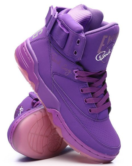the best attitude b176a 413bd Find Ewing 33 Hi Electric Purple Sneakers Men s Footwear from EWING   more  at DrJays. on Drjays.com