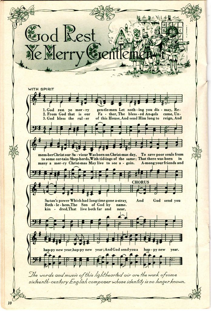https://flic.kr/p/aAHesS | God Rest Ye Merry Gentlemen | Free for your use.