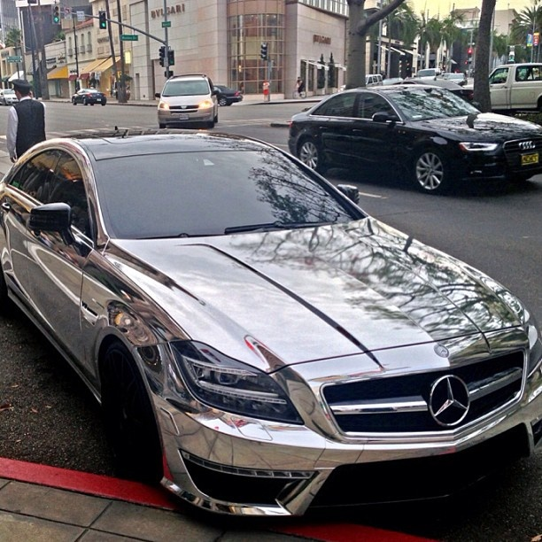 Sweet Chrome Mercedes CL63 AMG