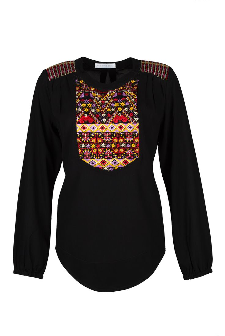KUTCH TOP Top with embroidery