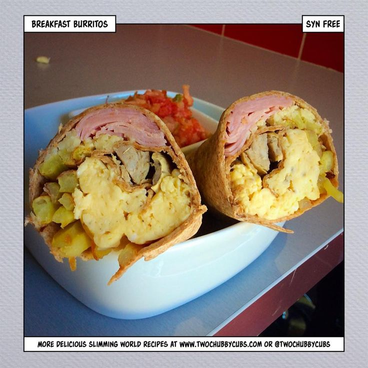 These syn-free breakfast burritos are an amazing way to start a Slimming World day! Stuffed full of meat, cheese and eggs, it's better than McDonalds! Remember, at www.twochubbycubs.com we post a new Slimming World recipe nearly every day. Our aim is good food, low in syns and served with enough laughs to make this dieting business worthwhile. Please share our recipes far and wide! We've also got a facebook group at www.facebook.com/twochubbycubs - enjoy!