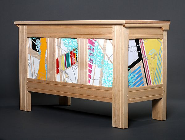Modern Blanket Chest by Reid Anderson: Wooden Chest available at…