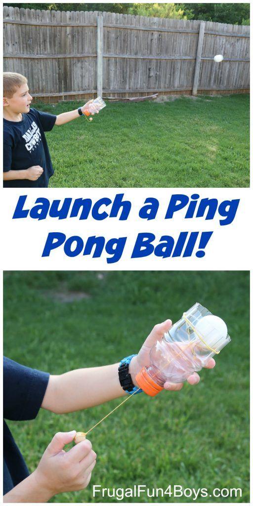 Make a Ping Pong Ball Launcher!