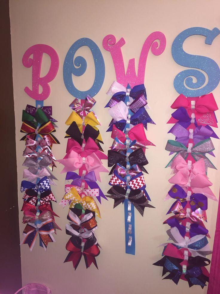 Cheer bow holder www.facebook.com/tutusbycasi                              …